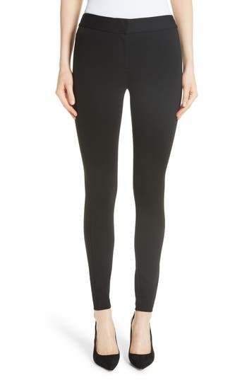 Emporio Armani Double Face Stretch Jersey Leggings, US / 42 IT - Black