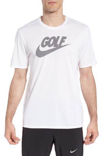 Nike Dry Lockup T-Shirt, White