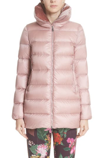 Moncler Torcol Quilted Down Jacket, Pink
