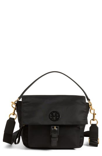Tory Burch Tilda Nylon Crossbody Bag Black
