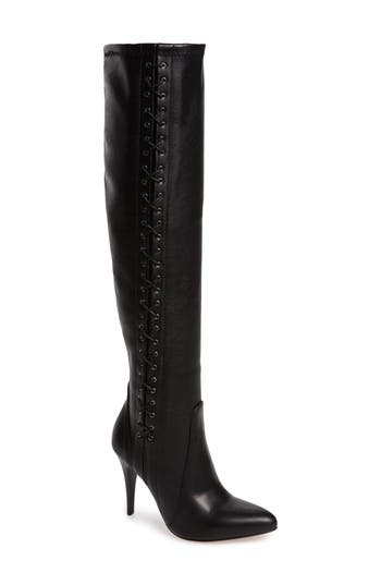 Charles David Kastell Knee High Boot Black