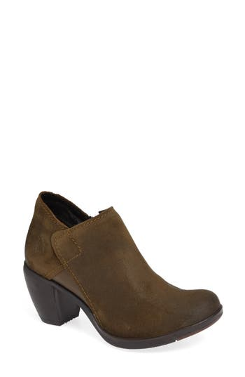Fly London Hace Bootie - Green