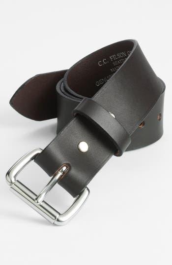 Filson Leather Belt