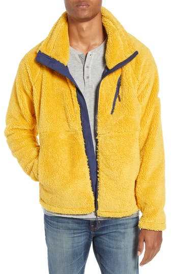 Penfield Breakheart Zip Fleece Jacket, Yellow