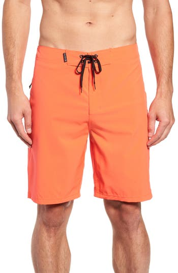 Hurley Phantom One And Only Board Shorts, Red