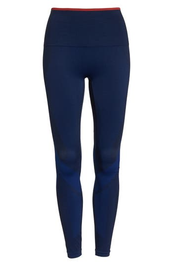 Lndr Motion High Waist Seamless Leggings, Blue