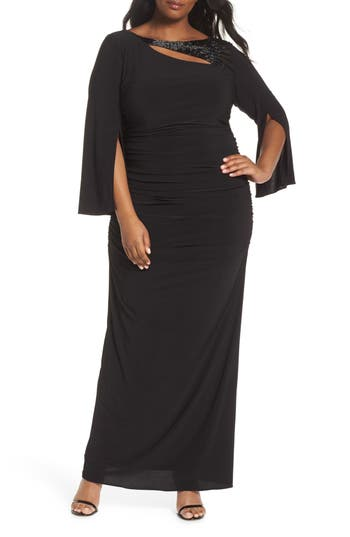 Plus Size Adrianna Papell Jersey Dress