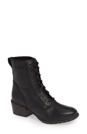 Timberland Sutherlin Bay Water Resistant Lace-Up Bootie, Black