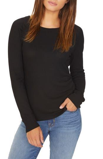 Kenzie Thermal Pullover, Black