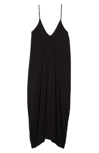 Elan V-Back Cover-Up Maxi Dress, Black
