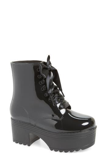 Jeffrey Campbell Waterproof Fog Boot, Black