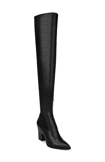 Sam Edelman Natasha Over The Knee Boot, Black