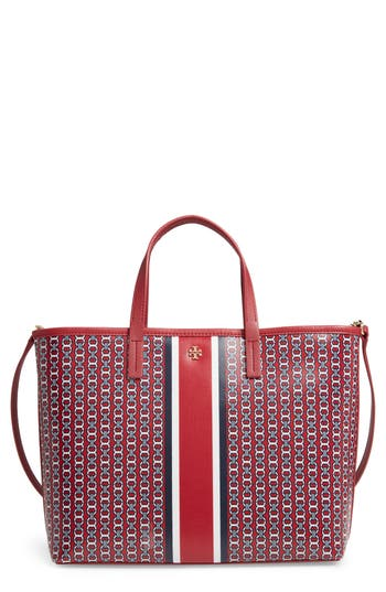 Small Gemini Link Tote - Red, Redstone