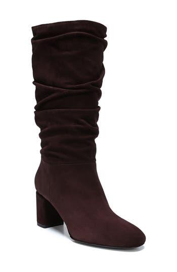 Via Spiga V-Naren Slouchy Boot, Purple