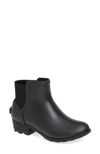 Sorel Janey Waterproof Chelsea Boot, Black