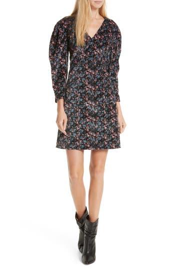La Vie Rebecca Taylor Lisette Velveteen Dress