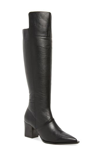 Lust For Life Tania Knee High Boot, Black