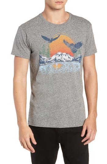Sol Angeles Lake Arrowhead Graphic T-Shirt, Grey