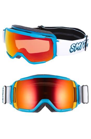 Grom 185Mm Snow Goggles - Cyan Yeti
