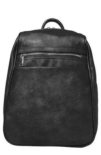 Dream On Vegan Leather Backpack - Black