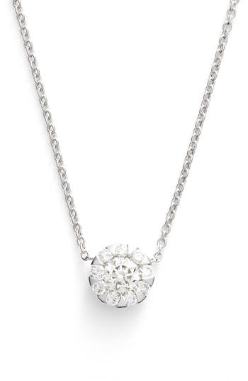 Women's Kwiat 'Sunburst' Diamond Pendant Necklace