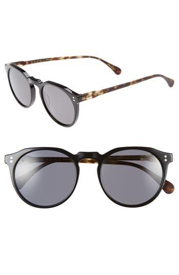 Men's Raen 'Remmy' 52Mm Polarized Sunglasses - Matte Tortoise/ Black/ Smoke