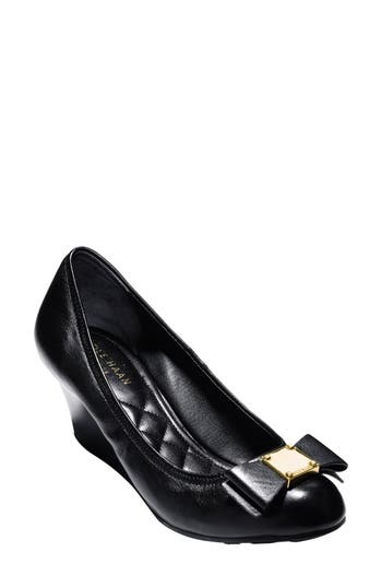 Women's Cole Haan 'Tali Grand' Bow Wedge Pump