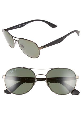 Ray-Ban 55Mm Polarized Sunglasses -