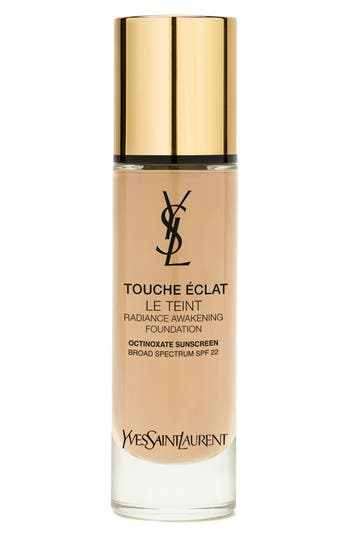 Yves Saint Laurent Touche Eclat Le Teint Radiance Awakening Foundation Spf 22 - Bd30 Warm Almond