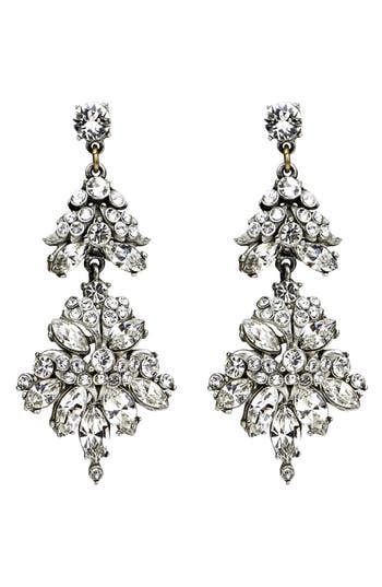 Women's Ben-Amun Crystal Statement Earrings