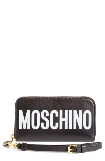 Women's Moschino Logo Wallet -