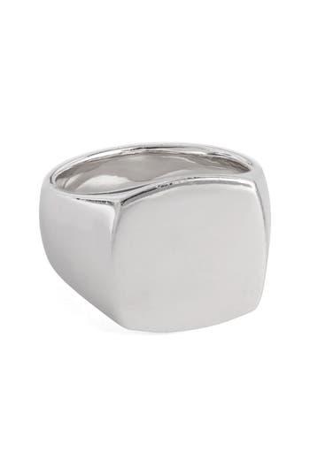 Women's Tom Wood Polished Cushion Ring