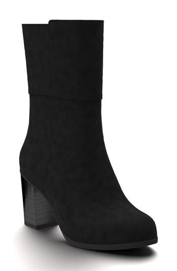 Shoes Of Prey Block Heel Boot