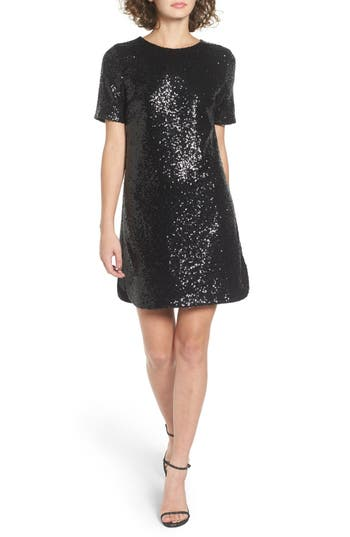 Women's Soprano Sequin T-Shirt Dress