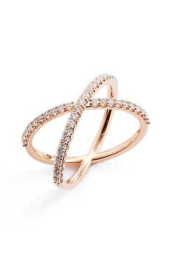 Women's Nadri Crossover Cubic Zirconia Ring