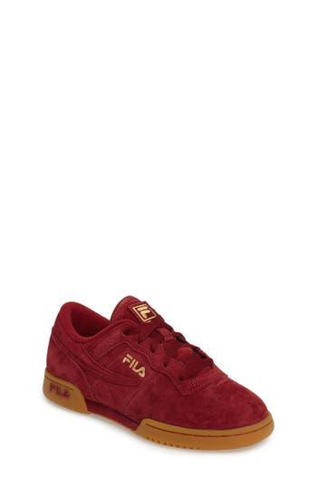 Boy's Fila Heritage Sneaker
