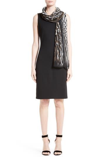 Women's St. John Collection Milano Knit Sheath Dress