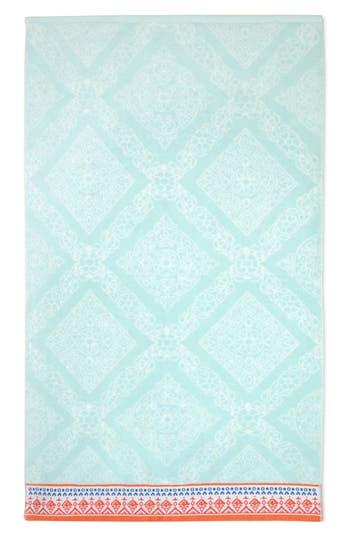 John Robshaw Mitta Bath Towel, Size One Size - Blue/green