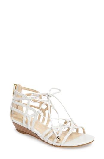Women's Isola Elisia Lace-Up Sandal, Size 9 M - White