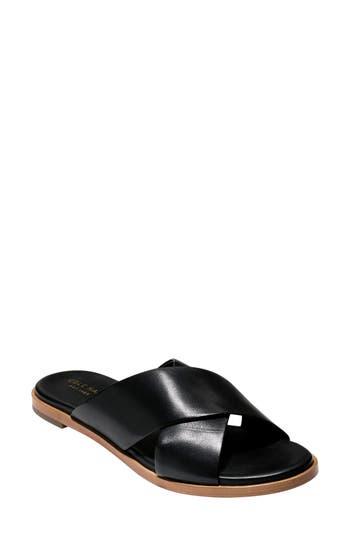 Cole Haan Anica Slide Sandal- Black