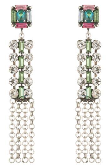 Women's Dannijo Akili Crystal Drop Earrings