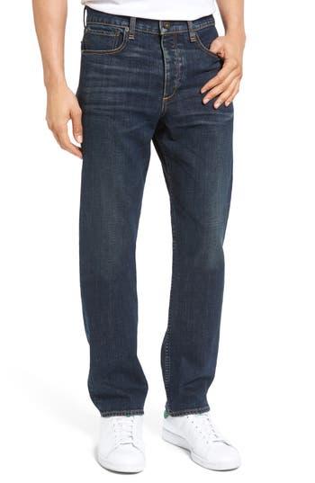Rag & Bone Fit 3 Slim Straight Leg Jeans, Dk. Blue