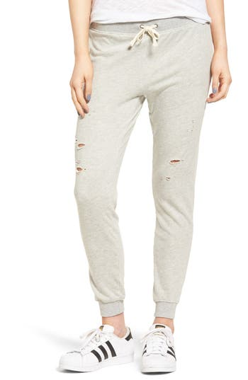 Women's Pam & Gela Betsee Distressed Jogger Pants