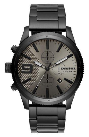 Diesel Rasp Chronograph Bracelet Watch, 46Mm