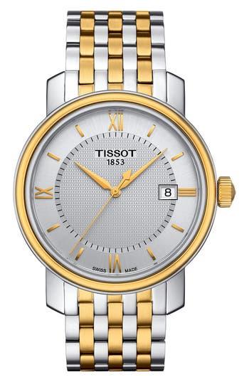 Tissot Bridgeport Bracelet Watch, 40Mm