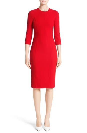 Women's Michael Kors Stretch Wool Bouclé Sheath Dress