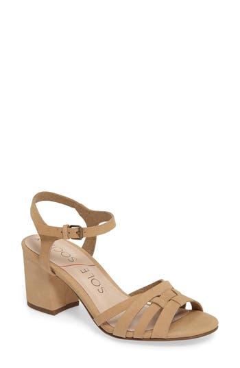 Women's Sole Society Paulina Block Heel Sandal