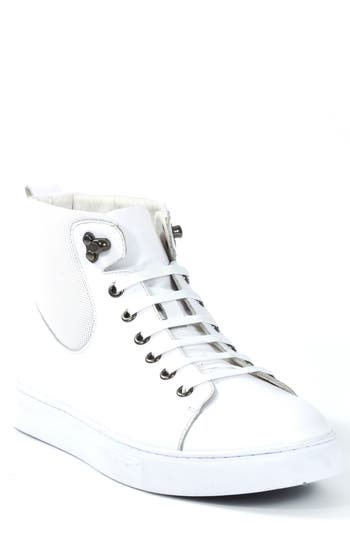 Badgley Mischka Sanders Sneaker, White
