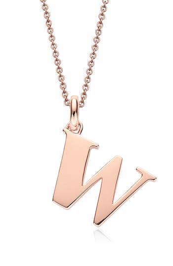 Women's Monica Vinader Alphabet Pendant