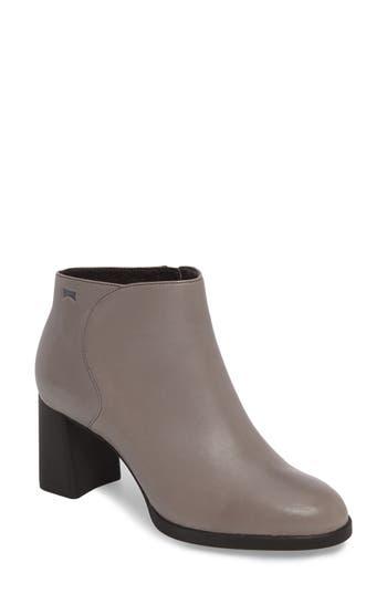 Camper Kara Flared Heel Bootie Grey